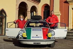 Mauro Argenti e Roberta Amorosa al Monte Carlo Historique 2016