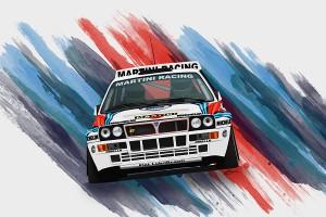Disegno Delta Integrale Martini Racing