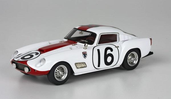 Modellino Ferrari 250 TdF che corse a Sebring.