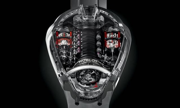 "Orologio Hublot MP-05 ""LaFerrari"" Shappire."