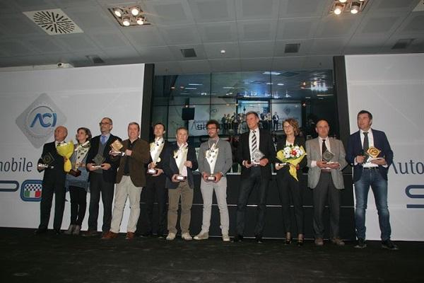 ACI Sport: festeggiamenti per i protagonisti del CIR Autostoriche 2015.