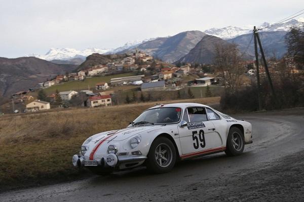 Rallye Monte-Carlo Historique 2016: vince un Alpine A110!