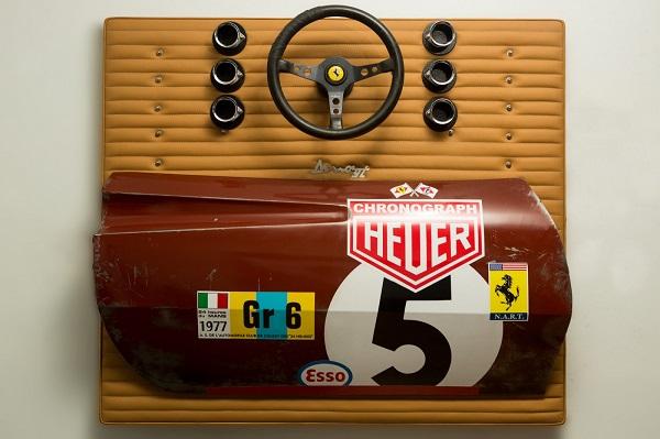 Gregory Johnston: arte di ispirazione automobilistica.