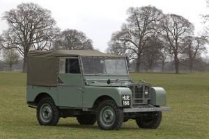 Land Rover prima