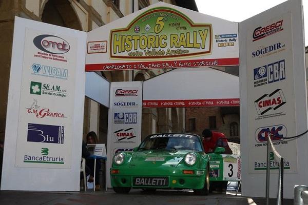 Il CIR Auto Storiche al via al Rally Vallate Aretine.