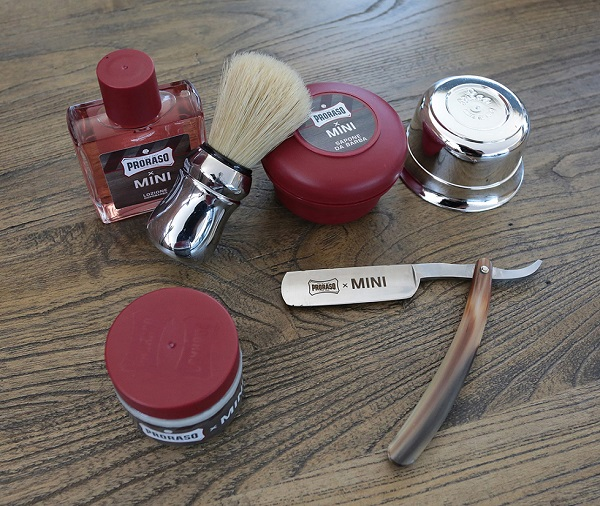 Proraso – Mini: il kit per la rasatura del Minista.