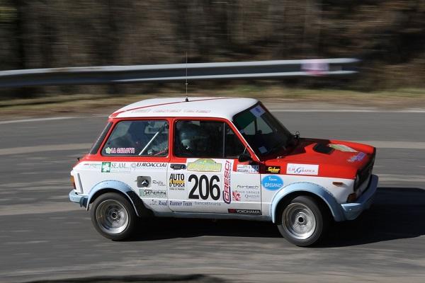 Trofeo A112 Abarth: 14 iscritti ad Arezzo