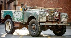 Land Rover da restauro