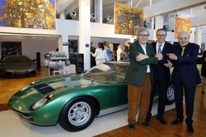 Mostra Lamborghini innaugurazione