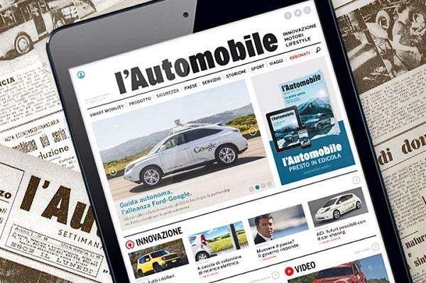 ACI rilancia la sua rivista L'Automobile.