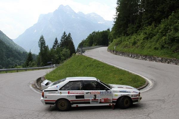 Tutto nuovo il Rally Dolomiti Historic 2016