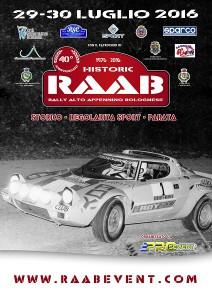 Locandina RAAB Historic 2016
