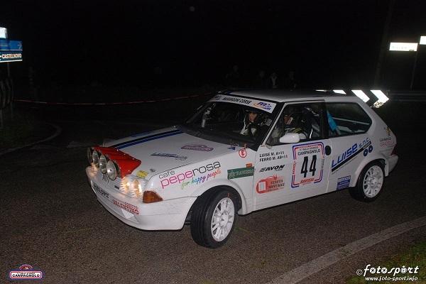 Ritorno di fiamma sulla Fiat Ritmo Gr.A per il connubio Luise-Rorally.