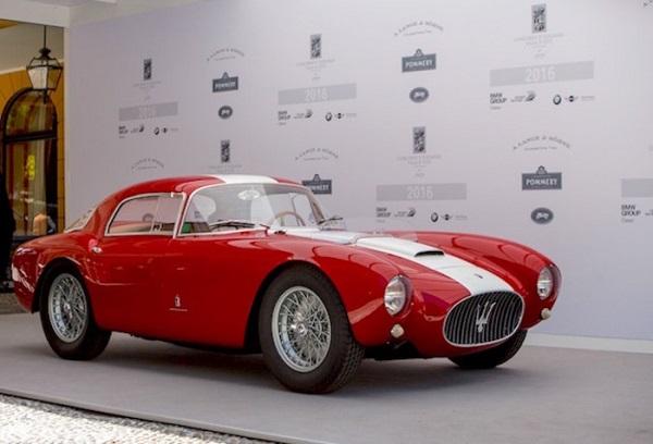 Una Maserati A6 GCS del 1954 regina del Villa D'Este.