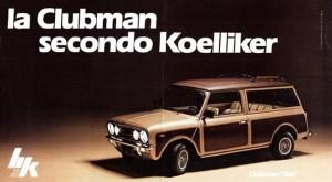 Mini Clubman by Koelliker del 1981