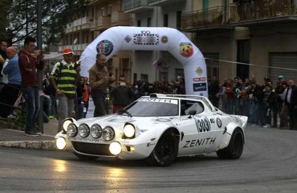 La 100esima Targa Florio Historic Rally alla Strato's di Comas-Roche.