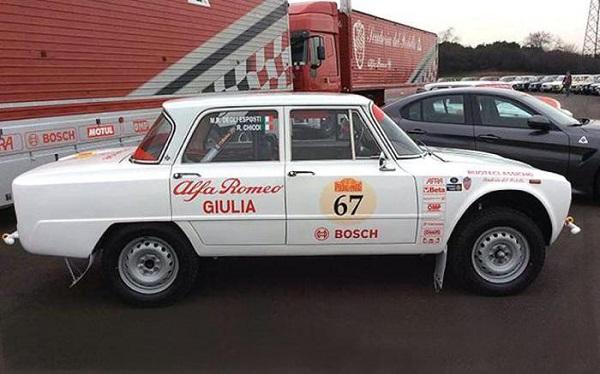 Alfa Romeo ritorna alla Pechino-Parigi.