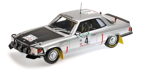Modellino Mercedes-Bens 450 SLC 5.0 – Rally di Bandama del 1979.