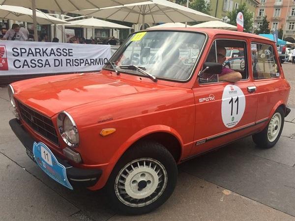 Mario Passanante e Paolo Merelli vincono su A112 la Mendola Mendel History.