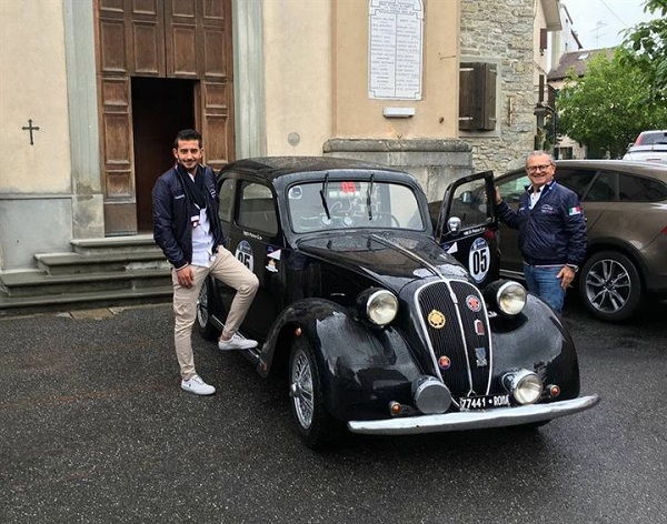 Targa AC Bologna 2016: la Fiat 508 di Di Pietra-Di Pietra davanti a tutti
