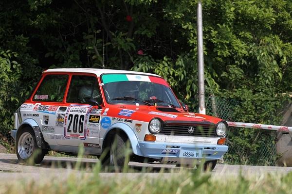 Trofeo A112 Abarth: Meggiarin e Gallotti svettano al Campagnolo.