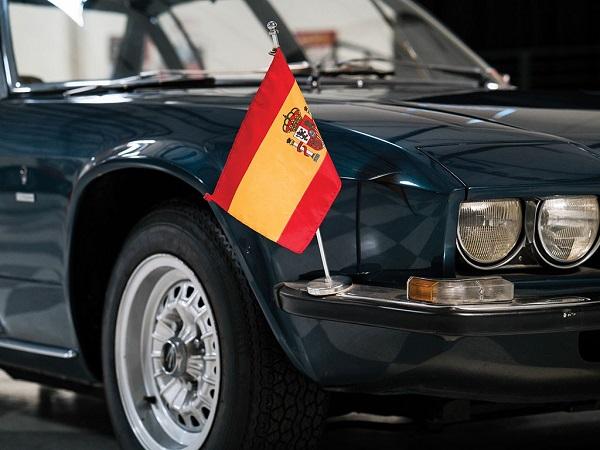 All'asta la Maserati Quattroporte 1971 dell'ex Re di Spagna.