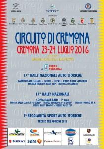Locandina Circuito di Cremona 2016
