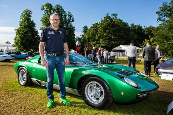Lamborghini Miura SV vince il concorso Cartier Style et Luxe a Goodwood.