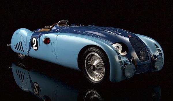Modellino Bugatti 578G del 1937 by Amalgam Models