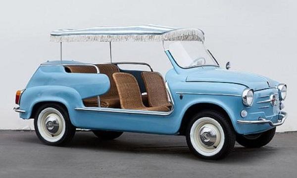 Pebble Beach, venduta una Fiat 600 del 1961 per 108mila euro.