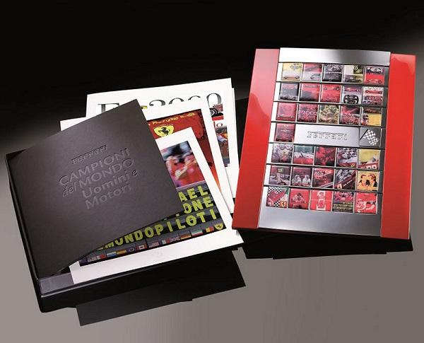Ferrari Collezione Smalti e Stampe artistiche Campioni del Mondo.