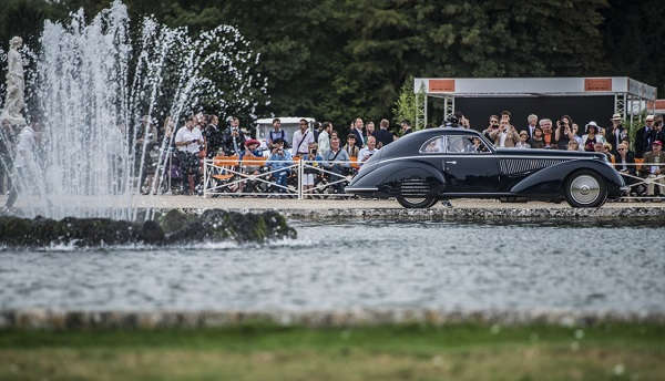 Alfa 8C 2900 Touring Best of Show a Chantilly Arts Elegance.