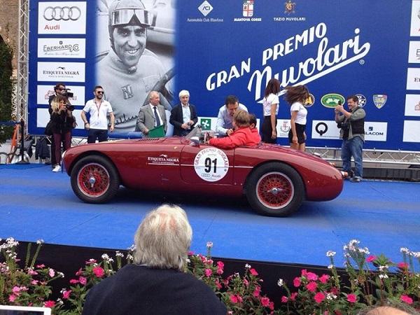 Gran Premio Nuvolari 2016: 310 auto d'epoca iscritte.