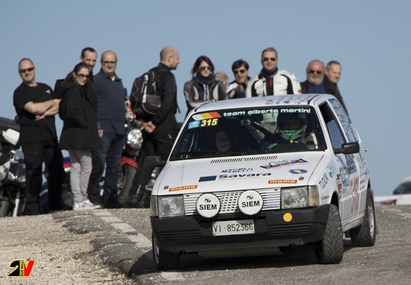 Al Rally Due Valli Classic 2016 vincono Martini-Moscato.