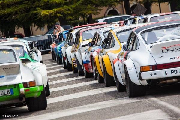 Al Rally Due Valli 2016: spettacolo in Piazza Bra.