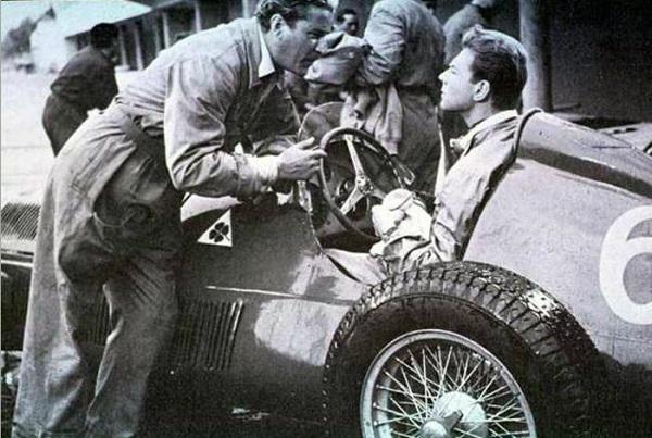 65 anni fa debuttavano a cinema Alfetta e Fangio, al fianco di Amedeo Nazzari.