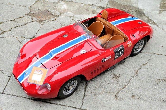 38 auto da corsa, anche Maserati 350S e Delta Integrale 8V, all'asta su Catawiki.