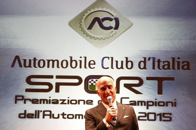 L'ACI premia i Campioni del 2016.