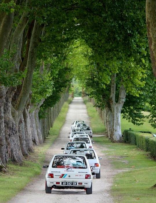 Una buona idea per far muovere le 205 Rallye.