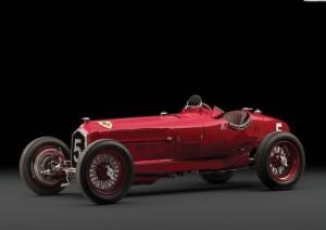Alfa Romeo Scuderia Ferrari punta a corona asta di Parigi