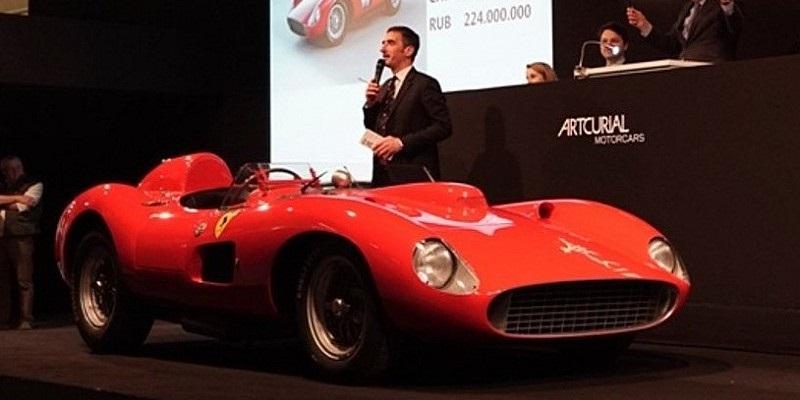 Top ten delle auto più costose al mondo.