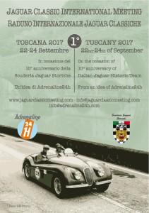Locandina Jaguar Meeting 2017