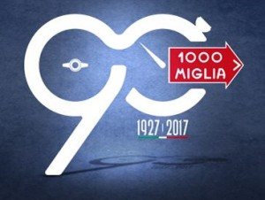 Logo dei 90anni 1000 Miglia