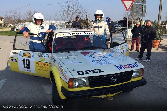 3° Rally Città di Adria: Sarto e Mancini sono pronti.