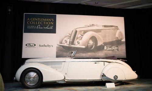 Fiat e altri marchi italiani al top all'asta Sotheby's in Usa