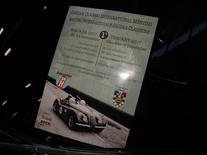 1° Jaguar Classic International Meeting: raduno in Toscana.