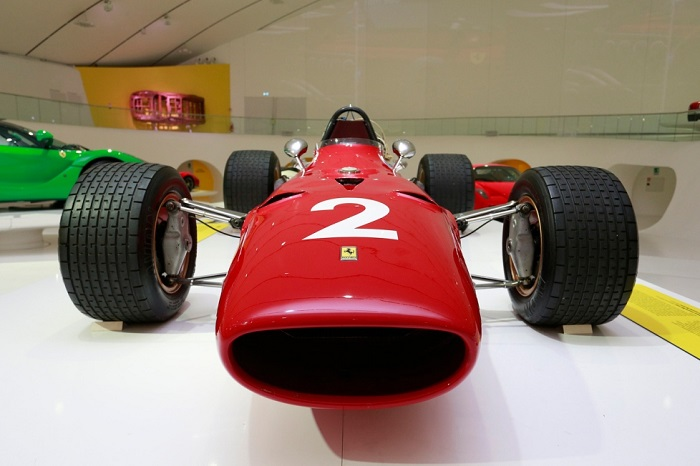 "Mostra ""Driving with the Stars"" al Museo Enzo Ferrari di Modena."
