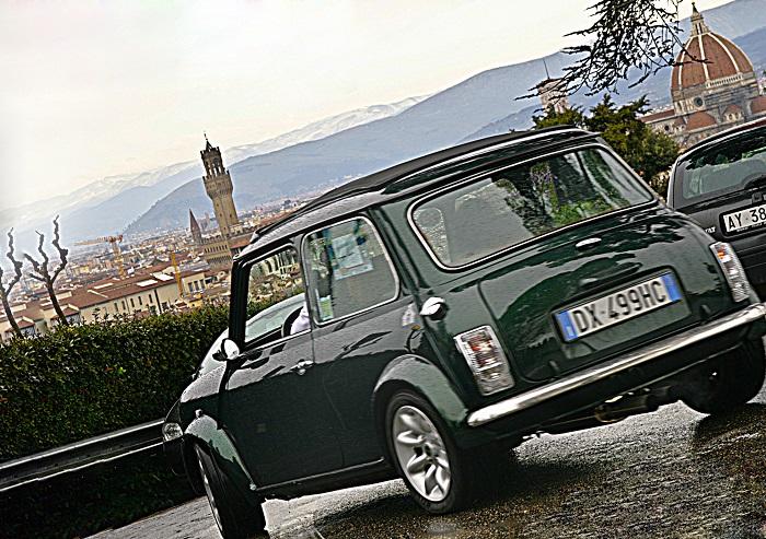 Raduno Mini Classica in terra di Toscana.