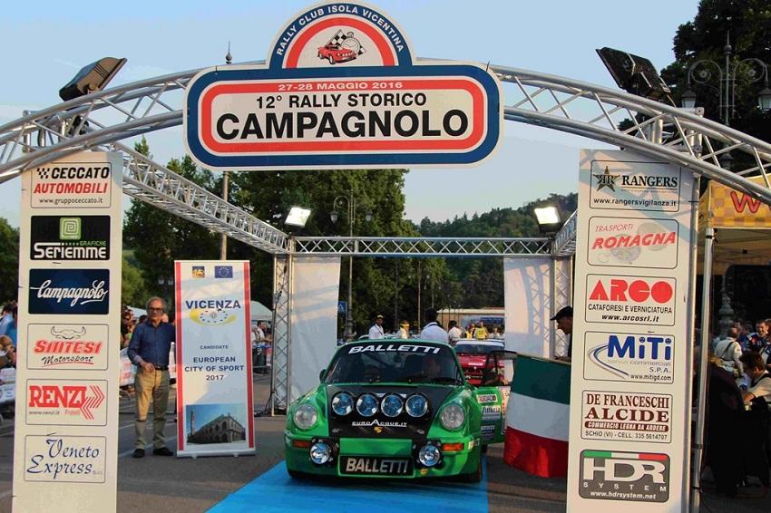 13° Rally Campagnolo: sono 159 gli iscritti!
