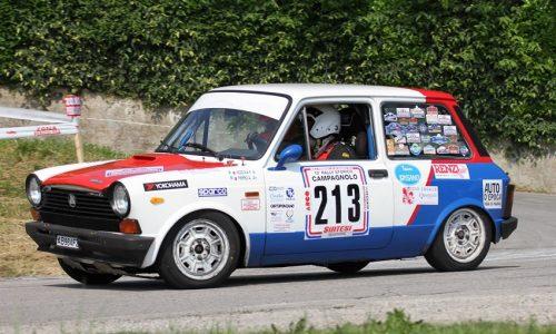 Trofeo A112 Abarth Yokohama: in 22 al Campagnolo.